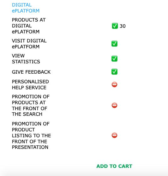 Business -  Subscription Plan To Exhibit At NIRUDI Digital ePlatform.