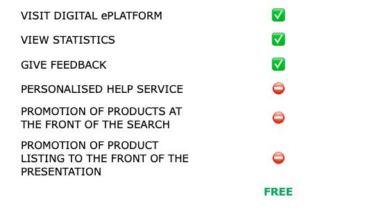 Basic - Subscription Plan To Exhibit At NIRUDI Digital ePlatform.