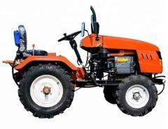 High quality four-wheel tractor 12 and 15 HP