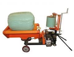 high-quality multi-function automatic bale wrapper machine