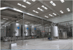 Pasteurized Milk And Yogourt Production Line