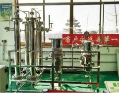 Purification by biogas membrane separation