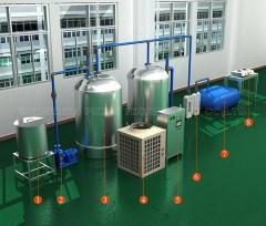 high efficiency and automated anaerobic treatment system